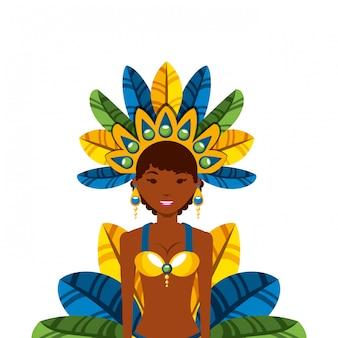 Icona del ballerino brasiliano