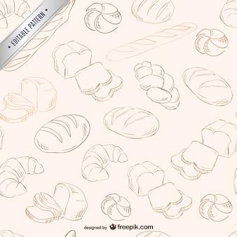 Pane scarabocchia modello