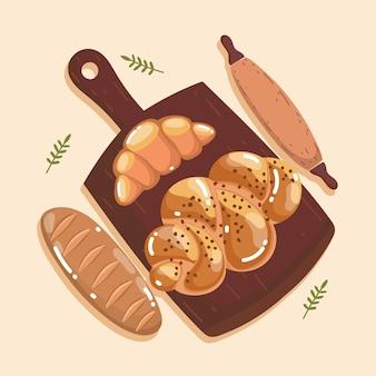 Pane e tagliere