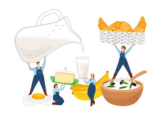 Illustrazione colazione.