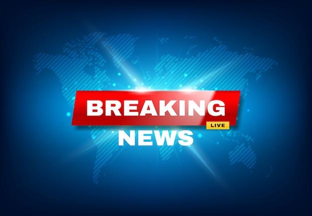 Ultime notizie tv screensaver, annuncio urgente
