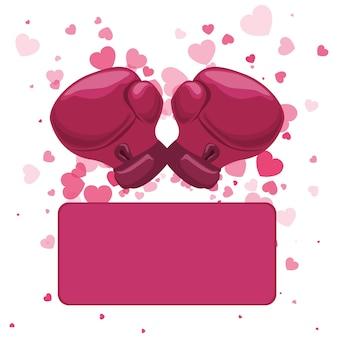Immagine di icone relative alla consapevolezza del cancro al seno