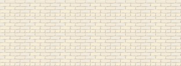 Sfondo texture muro di mattoni. illustrazione digitale di brickwall di colore bianco.