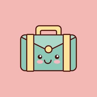Stile valigetta personaggio kawaii