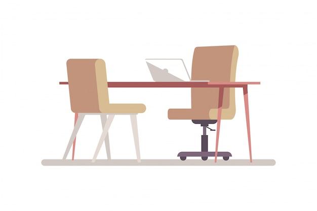 Briefing room semi rgb illustrazione a colori