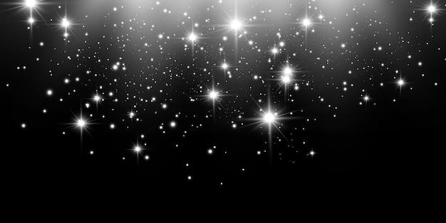 Belle stelle luminose.