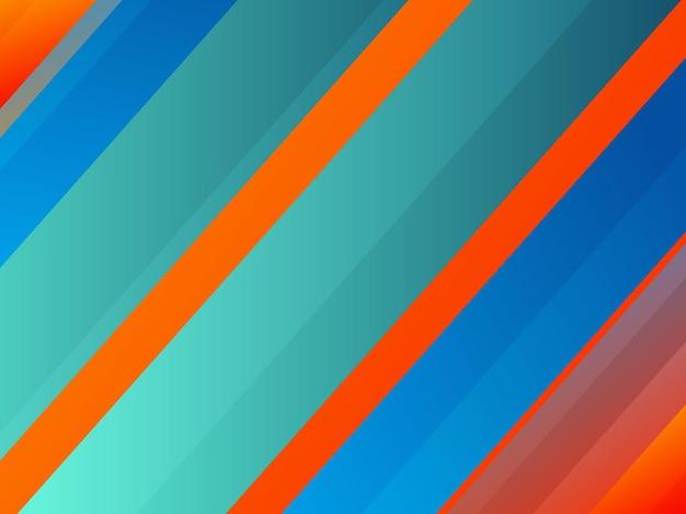 Sfondo di strisce di colore brillante