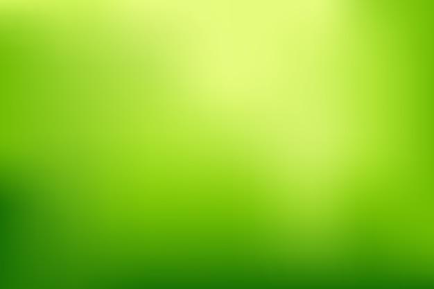 Sfondo sfumato luminoso nei toni del verde