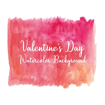 Struttura dell'acquerello rosa brillante per san valentino