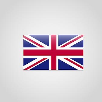Vettore di progettazione della bandiera britannica