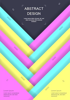 Brochure, relazione annuale, modello di progettazione di volantini a4. composizioni astratte minime per poster, banner.