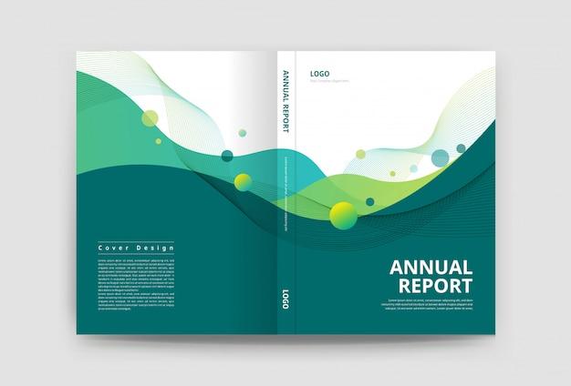 Modello di progettazione copertina brochure