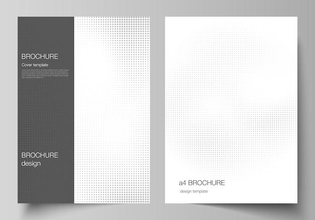 Brochure flyer layout copertina design book design copertina brochure decorazione effetto mezzitoni