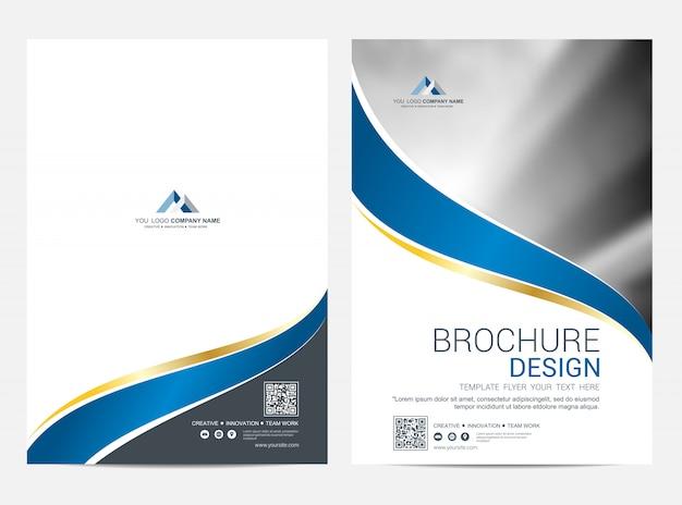 Fondo di vettore di progettazione dell'aletta di filatoio del modello dell'opuscolo