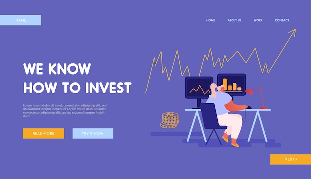 Broker service bulls and bears fund landing page