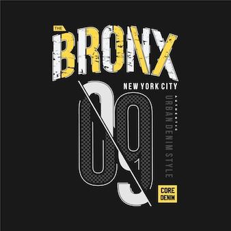 Il bronx di new york city