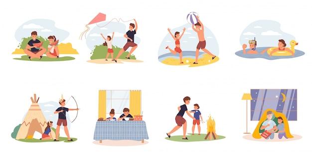 Set di attività di vita quotidiana della sorella