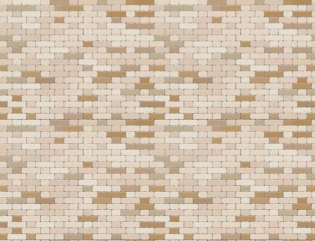 Muro di mattoni marrone del grunge
