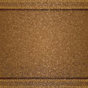 Sfondo di jeans marrone