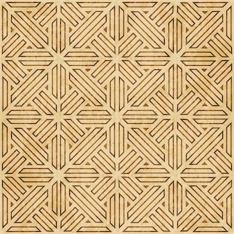 Struttura dell'acquerello marrone, modello senza soluzione di continuità, telaio poligonale a geometria trasversale