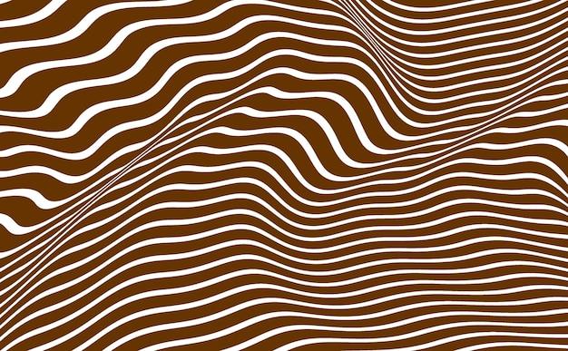 Sfondo marrone striscia d'onda.