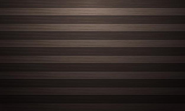 Modello di bordo in legno marrone a due toni con texture di sfondo luce fioca