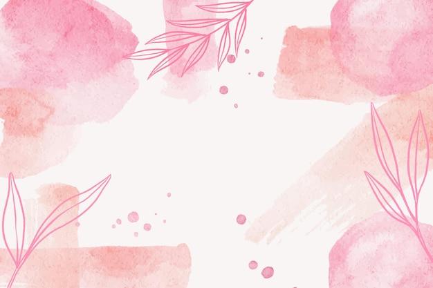 Pennellata splash acquerello astratto sfondo