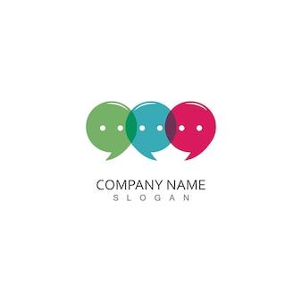 Logo della chat a bolle