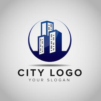 Ispirazione per il design del logo della costruzione di edifici