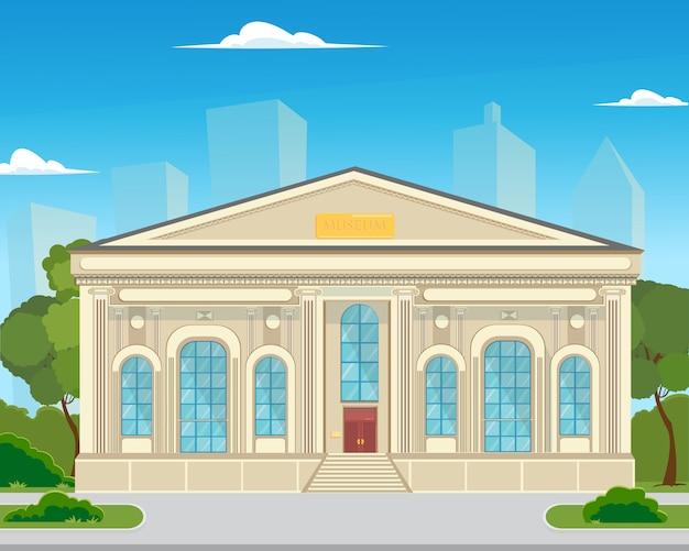 L'edificio è un museo storico in città.