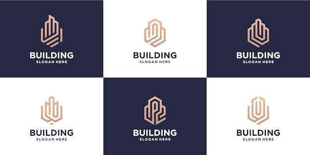 Creazione del pacchetto di progettazione del logo monoline