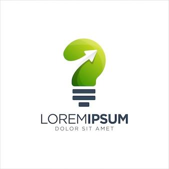 Logo della lampadina