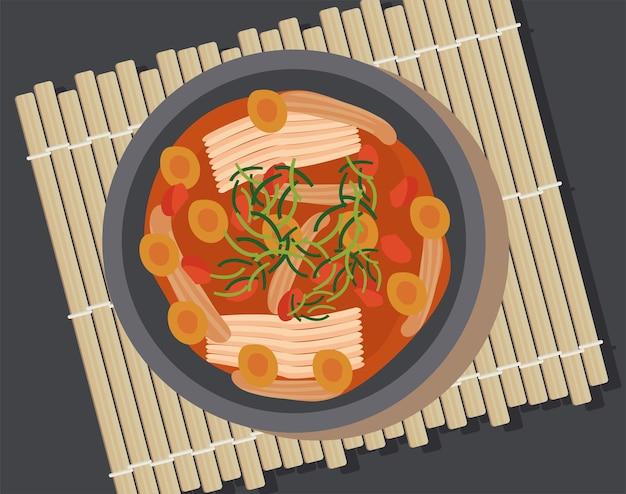 Bulgogi deliziosa zuppa coreana