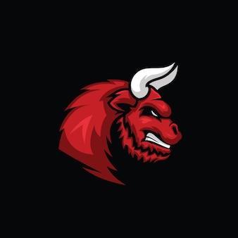 Illustrazione della testa di toro