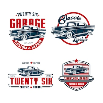 Bundle set garage vintage