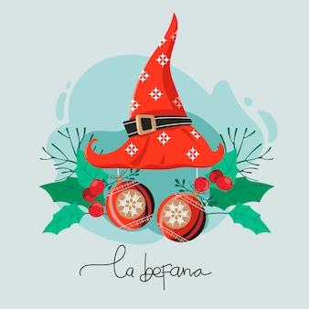 Buona befana significa felice tradizione natalizia dell'epifania in italia