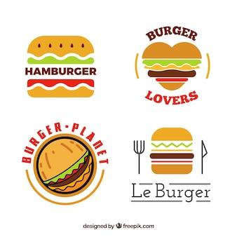 Ocollection di log di burger