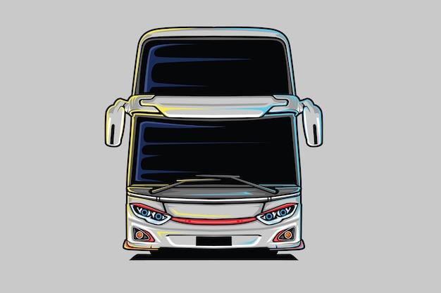 Illustrazione di autobus