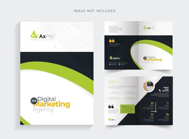 Brochure aziendale pieghevole