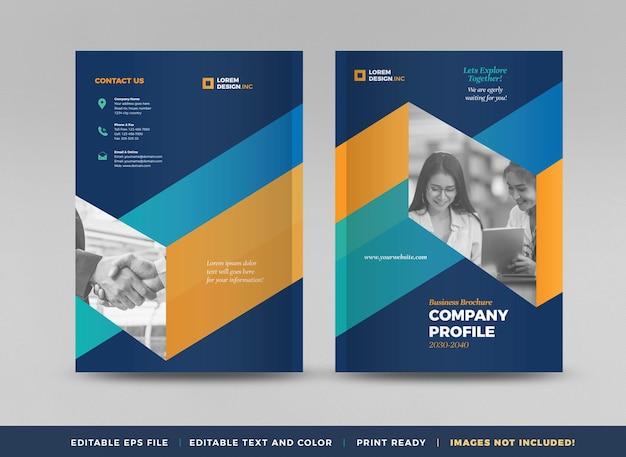 Progettazione di copertina di brochure aziendale o relazione annuale e profilo aziendale o copertina di opuscolo e catalogo