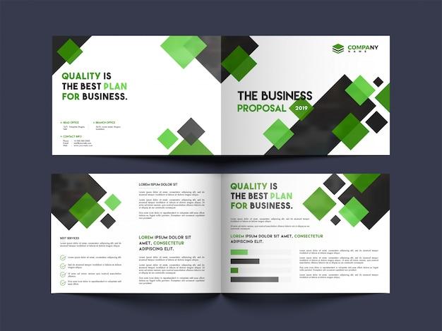Progettazione di copertine di brochure aziendali.