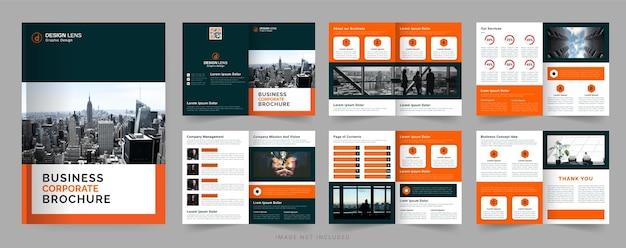 Modello di brochure aziendale aziendale