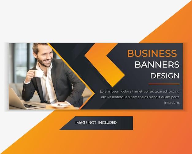 Modello di banner web di vendita di marketing digitale e aziendale. modello di banner web pubblicitario orizzontale. banner di intestazione web di marketing per social media e pubblicità sul sito web