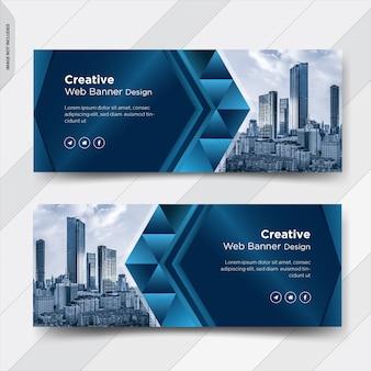 Business facebook cover social media post banner design
