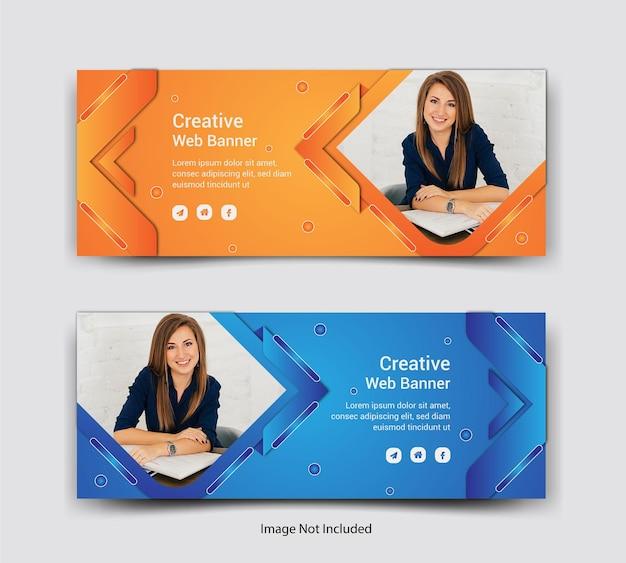 Progettazione di post sui social media per la copertina di facebook aziendale