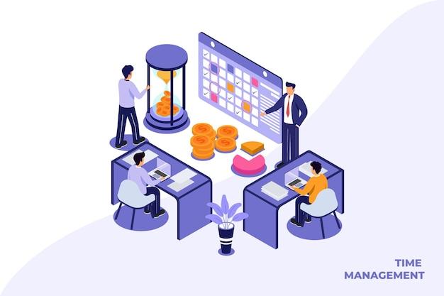 Modello di illustrazione piatto di affari