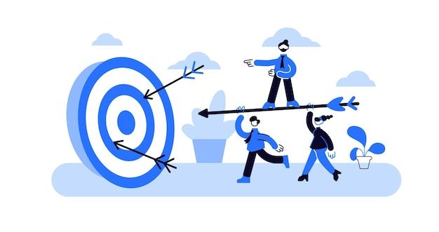 Sfida di raggiungimento degli obiettivi aziendali