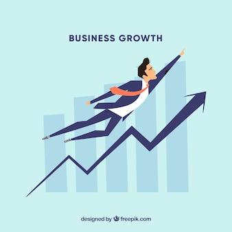 Concetto di crescita del business