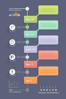 Modello di elementi di business infografica. illustrazioni