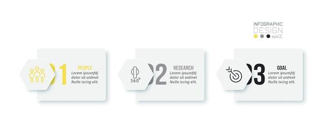Modello di infografica aziendale